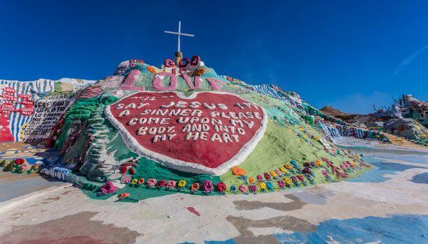 Salvation Mountain Art Installation