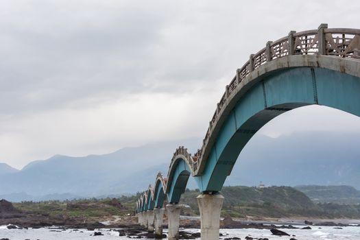 Famous bridge at Sanxiantai