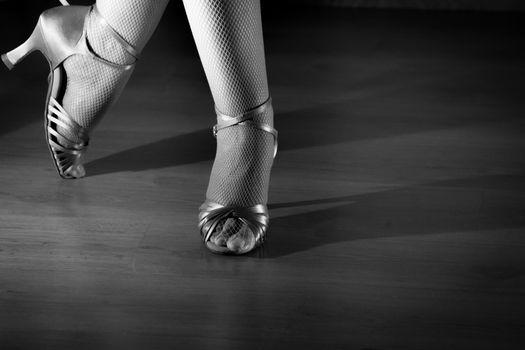 Latin dancing feet