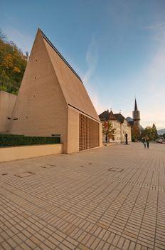 Parliament of Liechtenstein in Vaduz