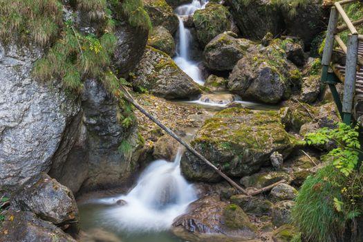 Waterfall at Mixnitz in Styria, Austria