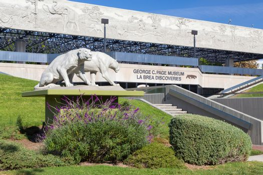 George C. Page Museum at Le Brea Tar Pits