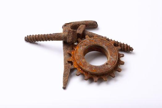 rusty bolts