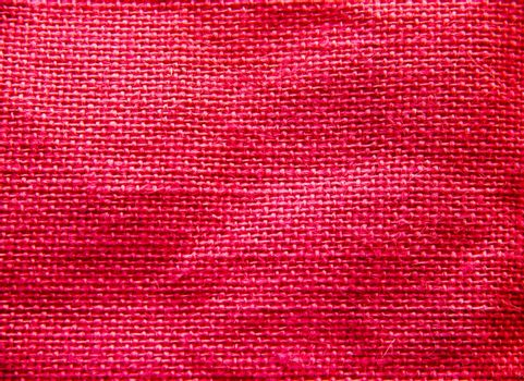 Woven fabric seen up close in front