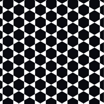 beehive vector pattern in black and white