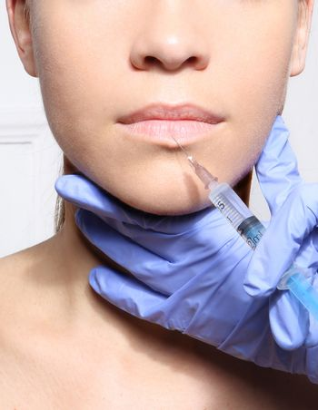 Magnify the mouth, aesthetic medicine