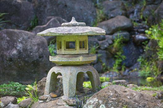 Asian Pagoda Sculpture