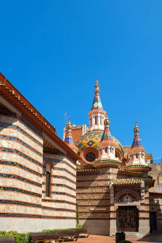 Parish Church of Sant Roma in Lloret de Mar. Girona province, Catalonia, Spain