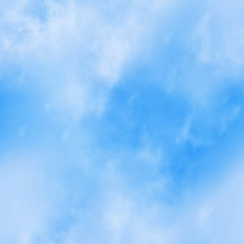 Seamless texture of a blue sky background.
