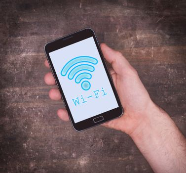 Wi-Fi on a mobile phone