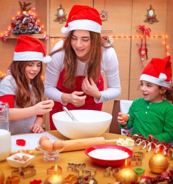 Happy Christmas cooking