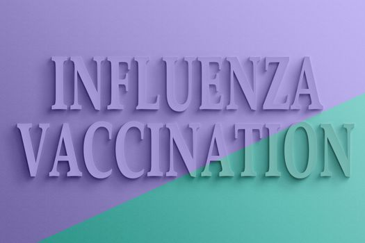 text of influenza vaccination