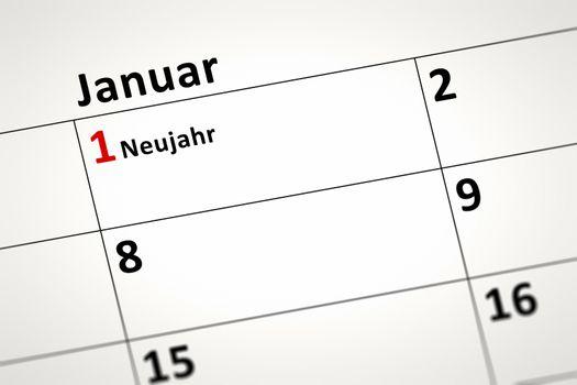 calendar detail