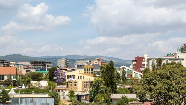 Bole area of Addis Ababa
