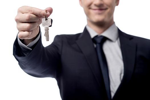 Take your new home key !