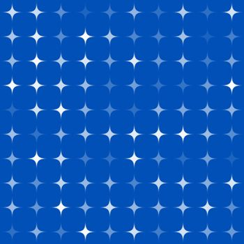 Abstract star shape mosaic background