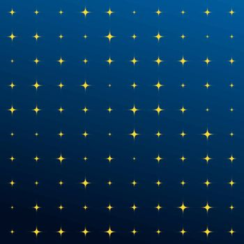 Abstract star shape background