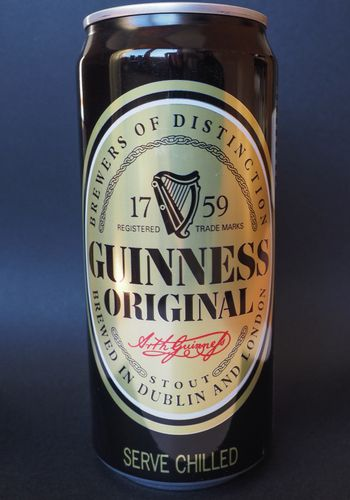 Guinness beer can