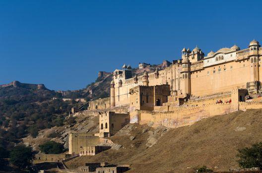 Amber Fort in Jaipur