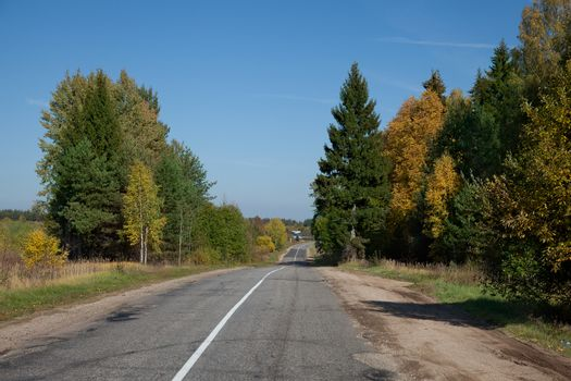 Lanscape with road