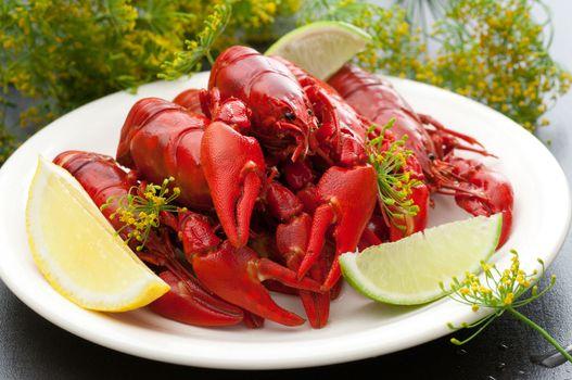 Freshly Cooked Crayfish