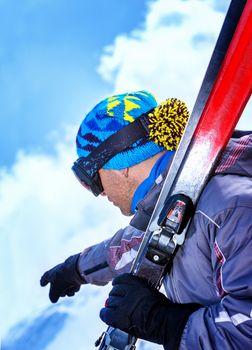 Professional skier