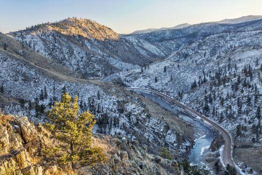 Cache la Poudre River Canyon