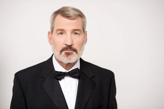 Mature businessman in suit