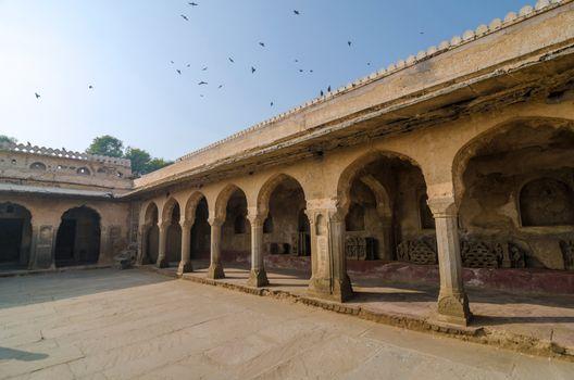 Arcade of Chand Baori Stepwell