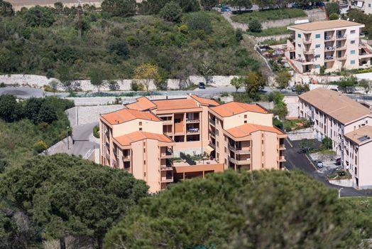Modern house at Cefalu Sicily