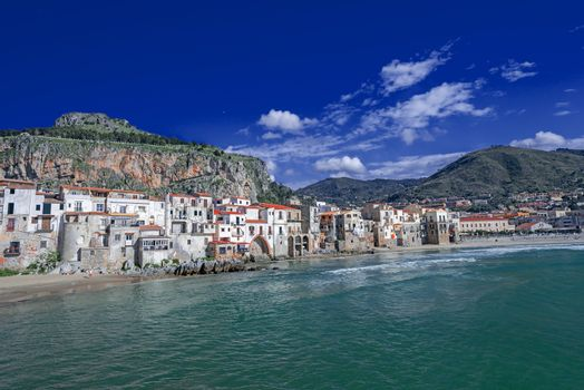 Bay at Cefalu Sicily