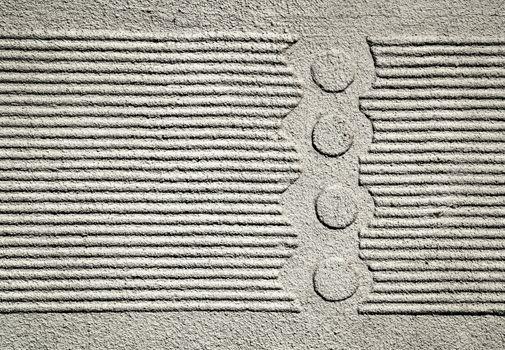pattern plaster house