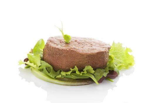 Filet mignon, tenderloin steak.