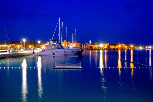 Yachting destination of Sukosan bay