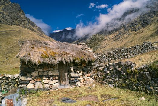 Hut in Andes