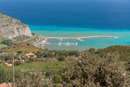 Harbour at Cefalu Sicily