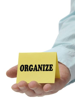 Organize - Sign Series