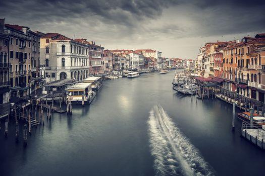 Beautiful Venice cityscape