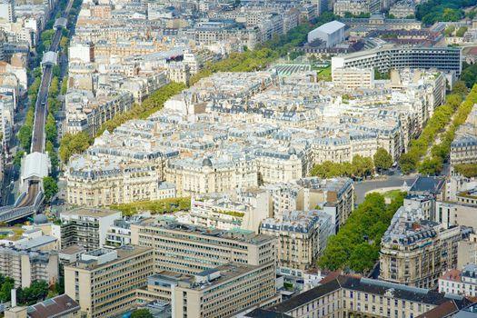 Parisian cityscape