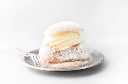 Semla, traditional Swedish pastry
