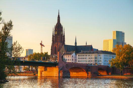 Frankfurt Cathedral in Frankfurt am Main