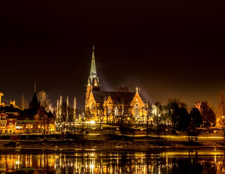 The City Church in Umea, Sweden