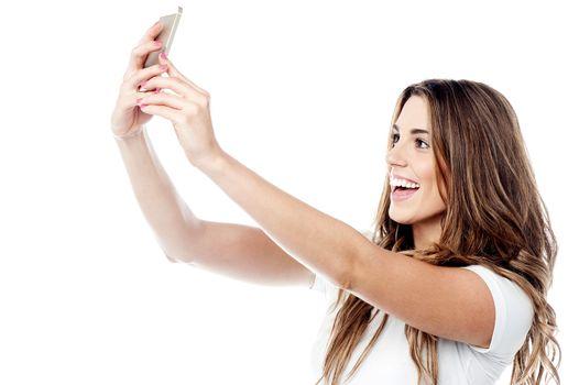 Let me take a selfie !