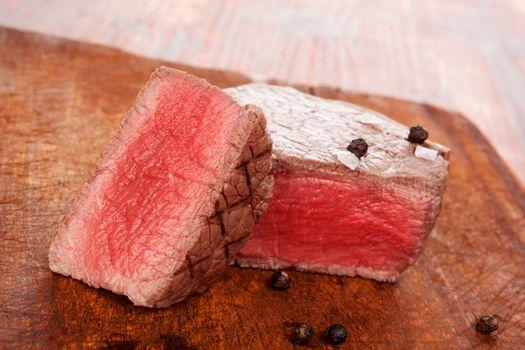 Steak eating