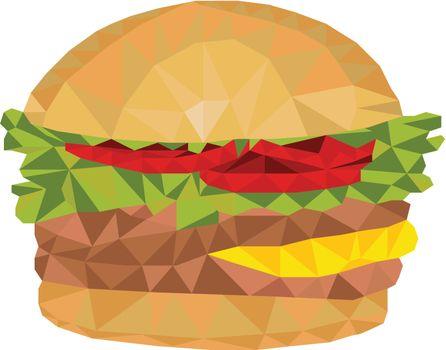 Hamburger Low Polygon