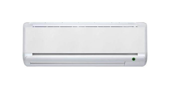 air conditioner machine isolated