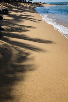 Ocean beach at Beruwala, Sri Lanka