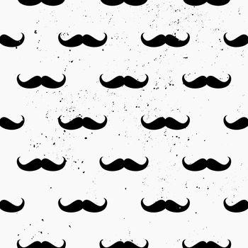 Mustaches Seamless Pattern