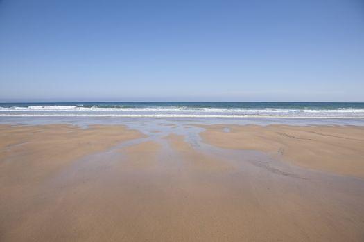 seashore in Asturias