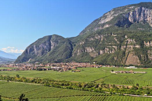Mezzolombardo and Adige valley